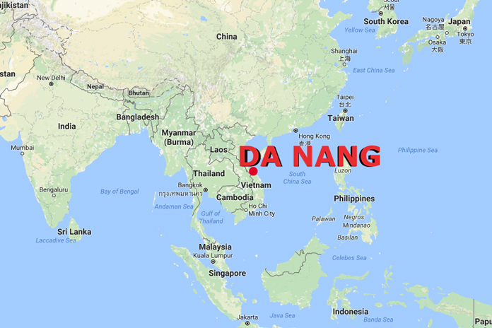 da-nang-international-flights-route-map