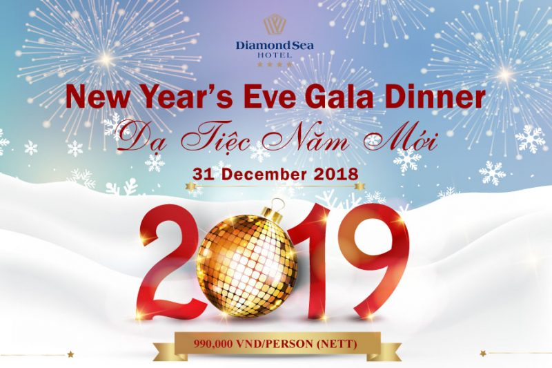 new years eve 2019 in da nang diamond sea hotel